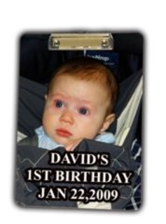 Personalized Photo Clipboard