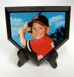 Personalized Photo Home Plate
