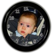 Personalized Photo Clock  Photo Wall Clock