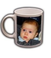 Personalized Photo Coffee Mug  Ceramic White 11oz
