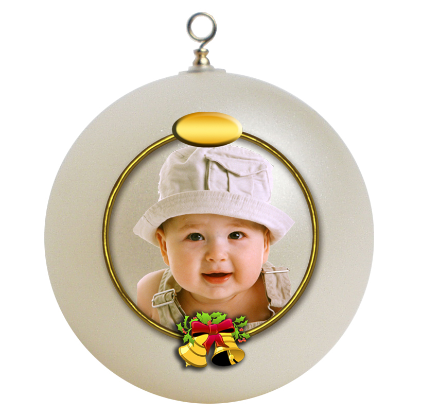 Unbreakable Photo Christmas Ornaments