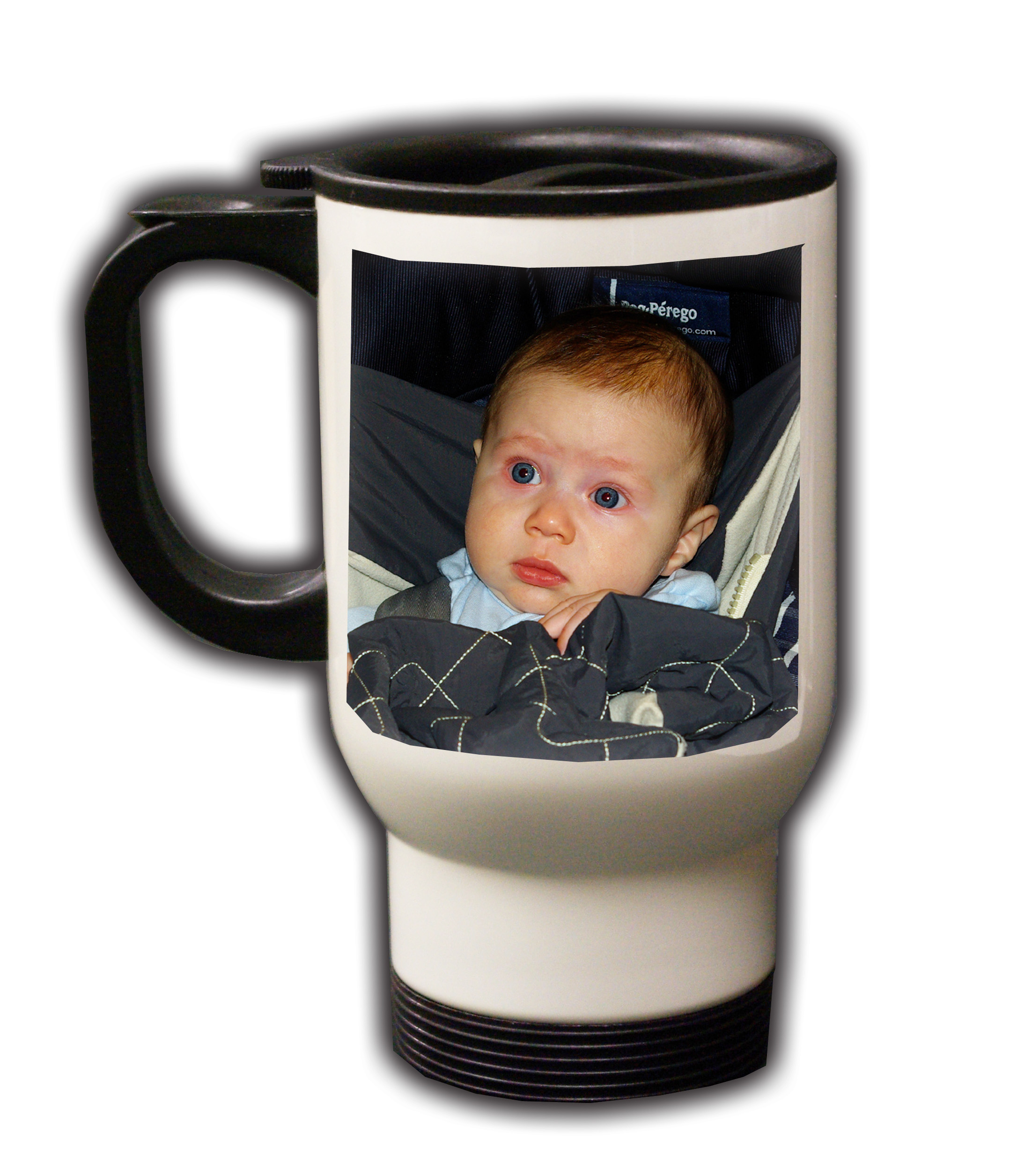 Stainless Steel Travel Mug Personalized Photo Coffee Mug